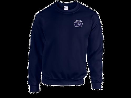 Detroit Police Car Patch (Left Chest) Sweatshirt