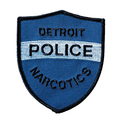 Detroit Police Narcotics Old Style Collectors Patch