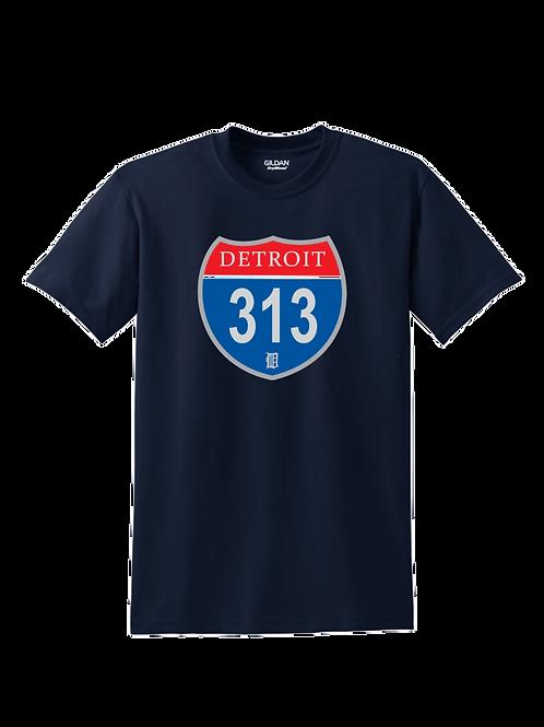Detroit 313 Interstate T-Shirt