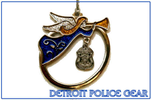 Detroit Police Angel Ornament