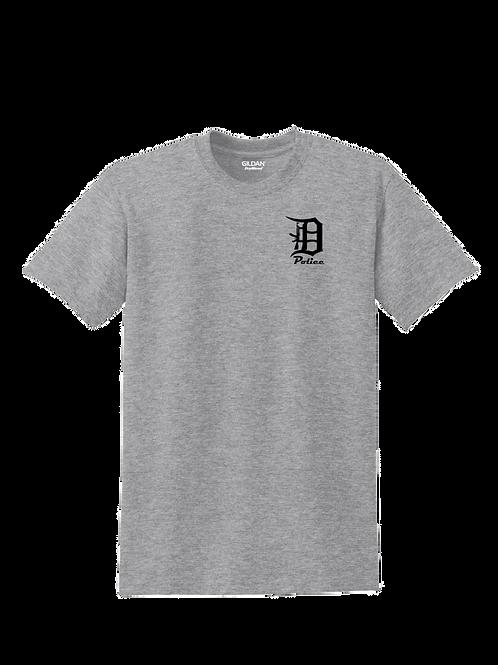 Detroit Police D Rifle (Left Chest) T-Shirt
