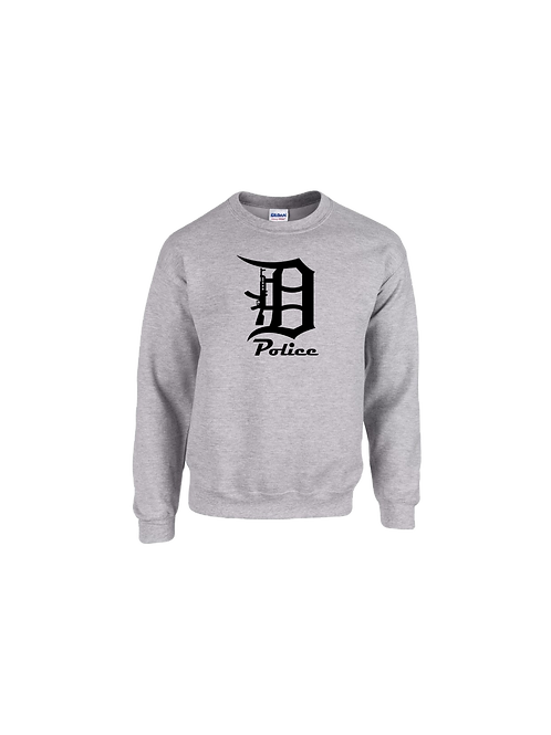 Detroit Police D Rifle Sweatshirt