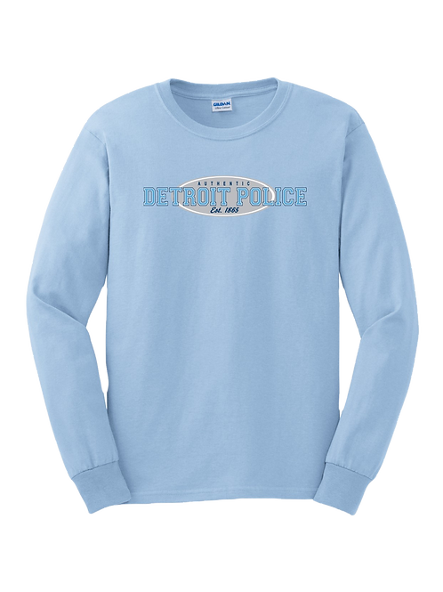 Detroit Police Authentic Long Sleeve Shirt