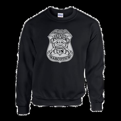 Detroit Police Narcotics Badge Sweatshirt