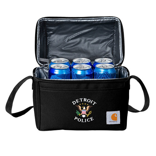 Carhartt® Lunch 6-Can Detroit Police Eagle Cooler CT89251601