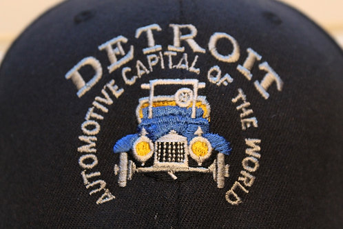 Detroit Police Car Patch Low Adjustable Hat