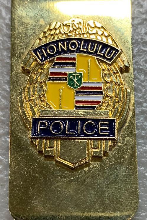 Honolulu Police Money Clip