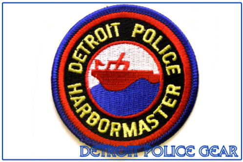 Detroit Police Harbor Master Collectors Patch