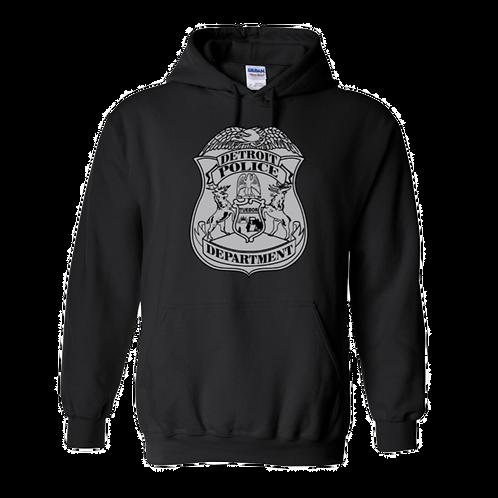 Detroit Police Badge Hoodie 18500