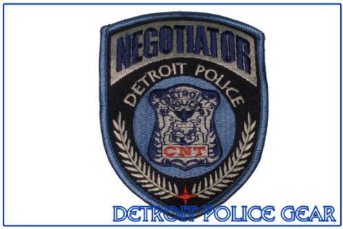 Detroit Police Negotiator Collectors Patch