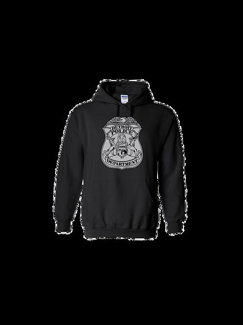 Detroit Police Badge Hoodie