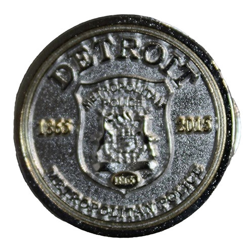 Detroit Police 1865 Collectors Pin