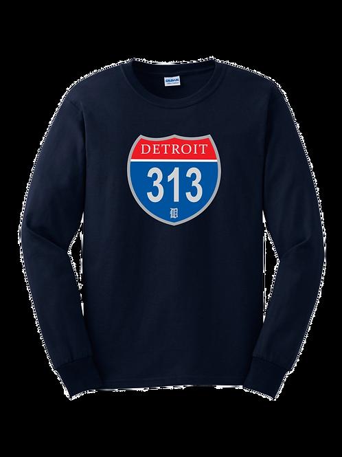 Detroit 313 Interstate Long Sleeve Shirt
