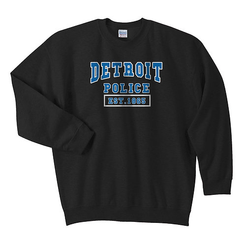Detroit Police Est. 1865 Midnight Sweatshirt