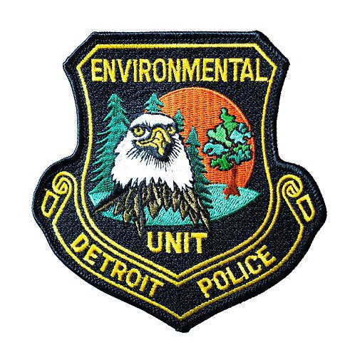 Detroit Police Environmental Unit Collectors Patch