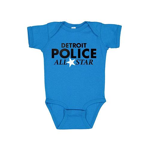 Detroit Police All Star Onesie