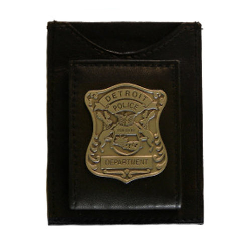 Detroit Police Department Pewter Badge Money Clip (Old Style)
