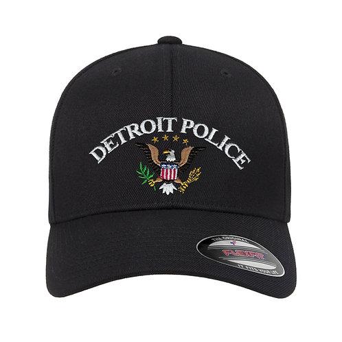 Detroit Police Eagle Flex-Fit Hat