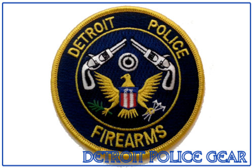 Detroit Police Firearms Collectors Patch