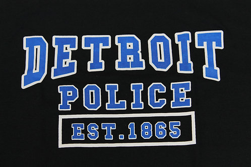Detroit Police Est. 1865 Midnight Sweatshirt