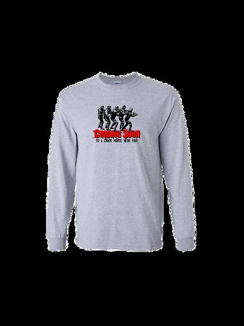Detroit Police Crack House Long Sleeve Shirt