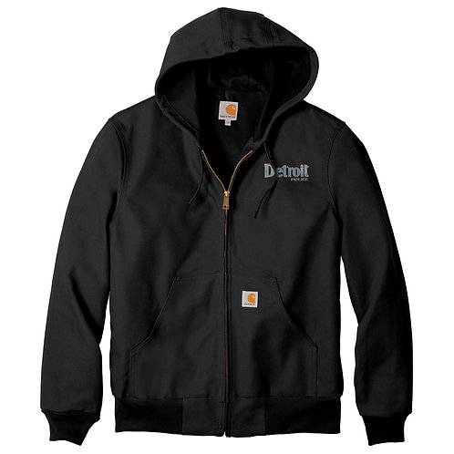 Carhartt ® Tall Thermal-Lined Duck Active Jac Detroit Police Jacket CTTJ131