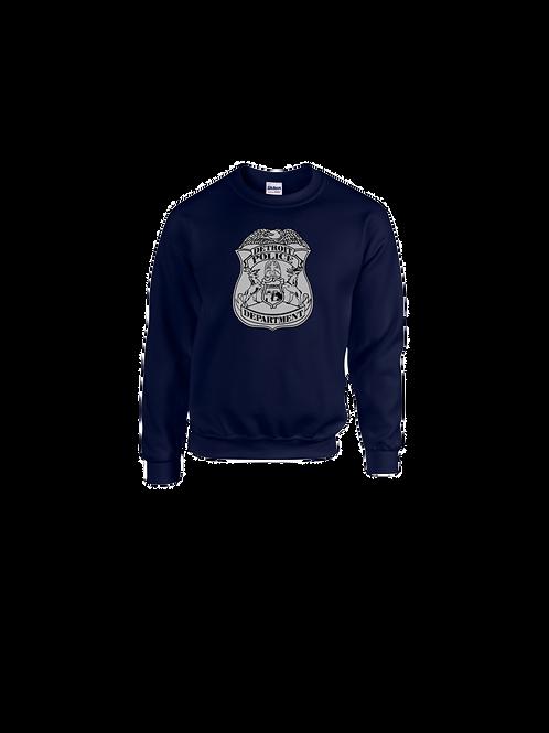 Detroit Police Badge Sweatshirt