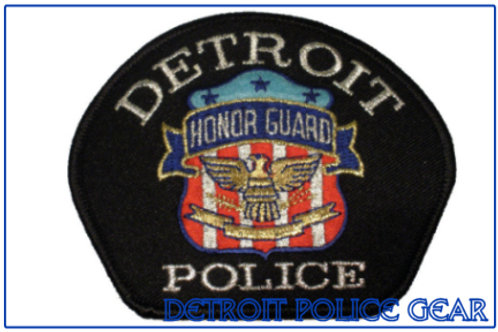 Detroit Police Honor Guard Patch