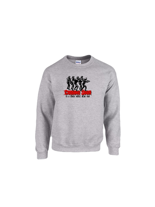 Detroit Police Crack House Sweatshirt