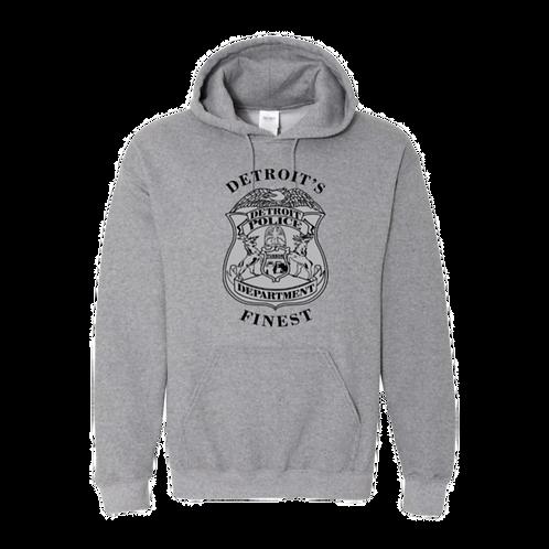 Detroit Police Finest Hoodie 18500