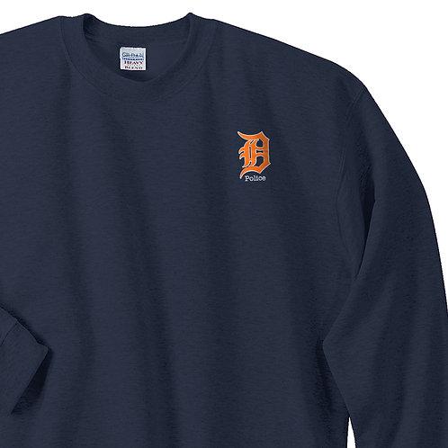Detroit Police D Police sweatshirt