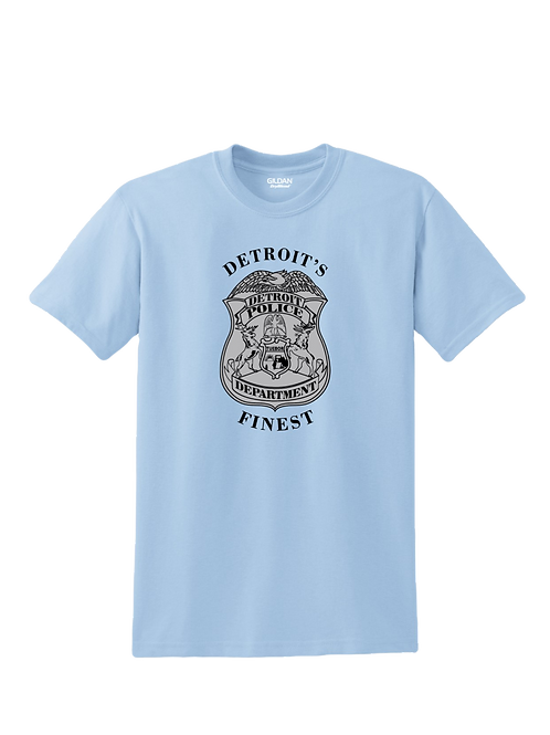 Detroit Police Finest Badge T-Shirt