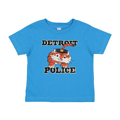 Detroit Police Little Tiger Kids Shirt RS3301