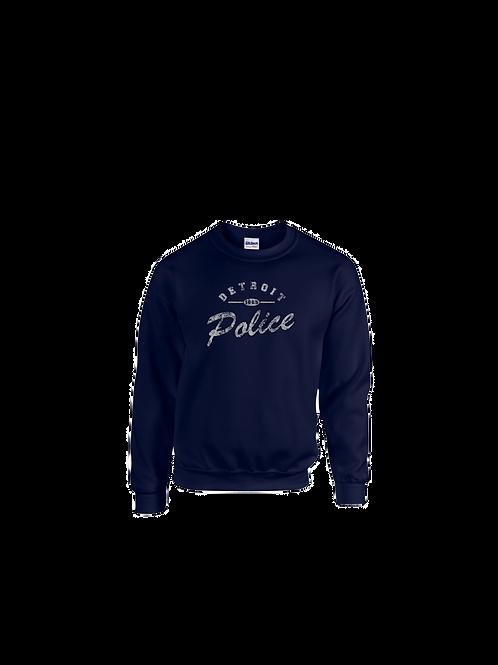 Detroit Police Distressed Sweatshirt