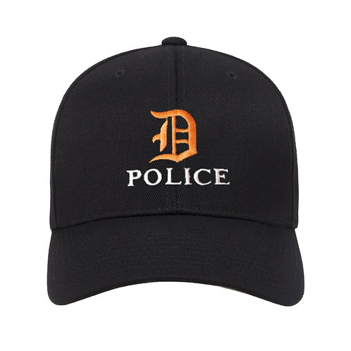 Detroit D Police Adjustable Hat