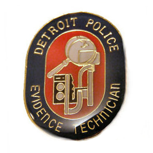 Detroit Police Evidence Technician Collectors Pin