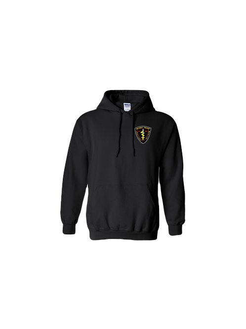 Detroit Police Tactical Mobile (Left Chest) Hoodie
