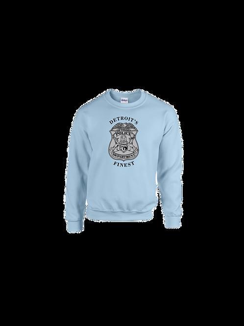 Detroit Police Finest Badge Sweatshirt