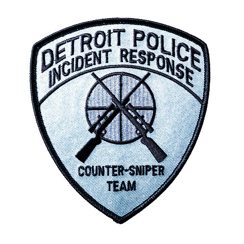 Detroit Police Incident Response Collectors Patch (Counter-Sniper Team)