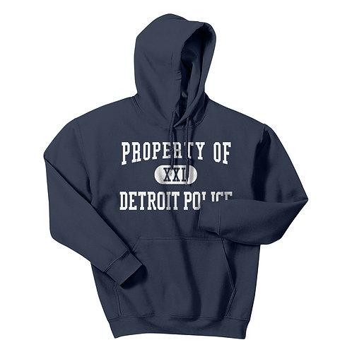Property of Detroit Police Hoodie 18500