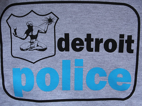 Detroit Police Old School Sweatshirt