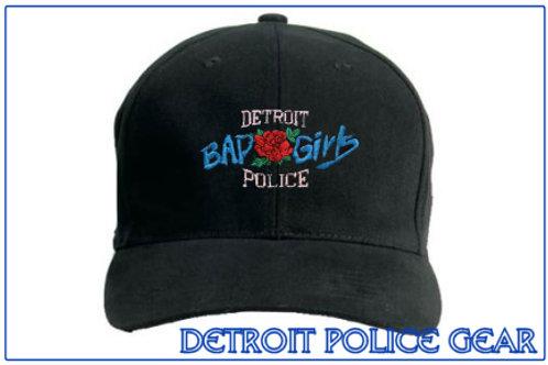 Detroit Police Bad Girls Low Profile Adjustable Hat