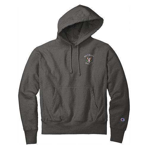 Champion ® Detroit Police Eagle Design Embroidered Sweatshirt