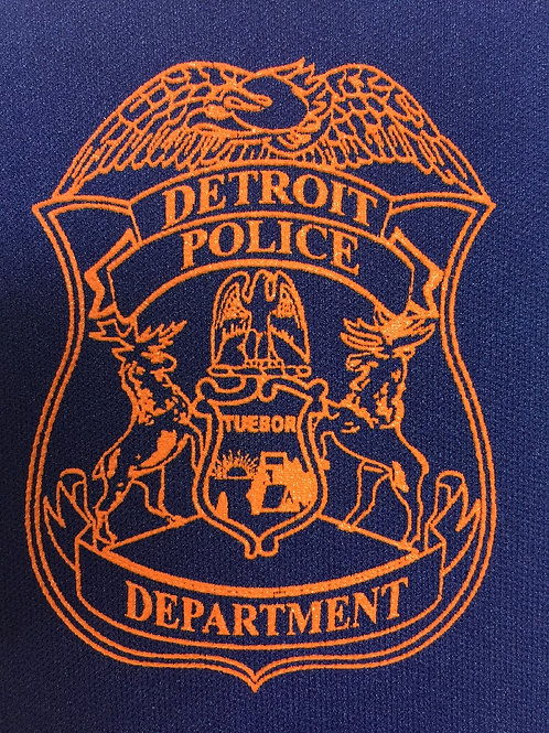 Detroit Police Badge Can Koozie