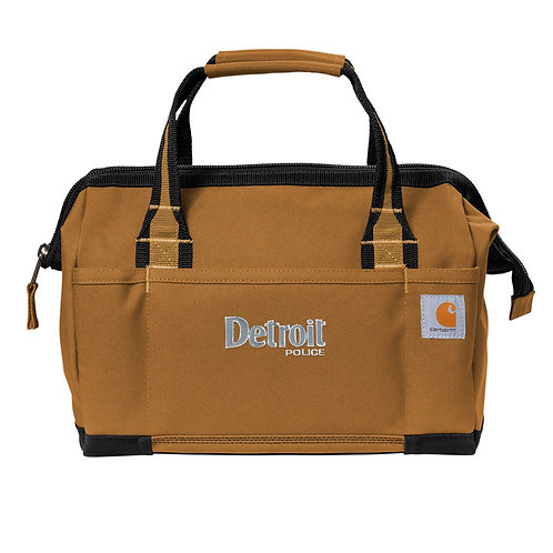"Carhartt® Foundry Series 14"" Detroit Police Tool Bag CT89240105"