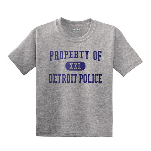 Property of Detroit Police Youth T-Shirt 8000B