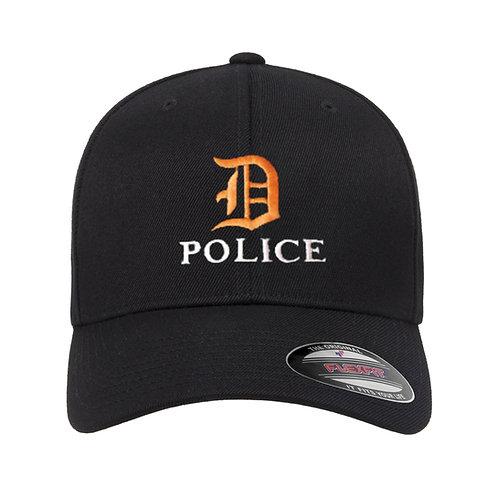 Detroit D Police Flex-Fit Hat