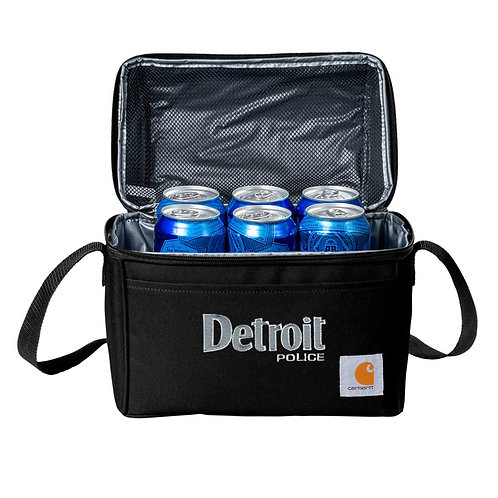Carhartt® Lunch 6-Can Detroit Police Cooler
