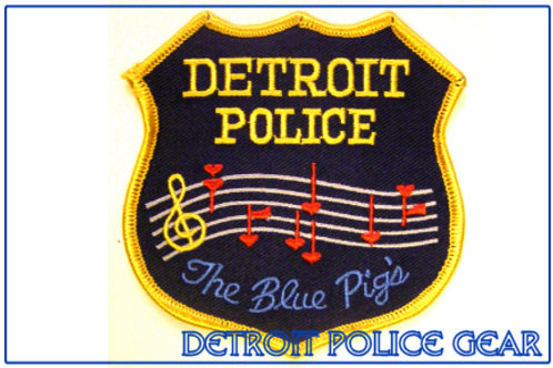 Detroit Police The Blue Pigs Collectors Patch