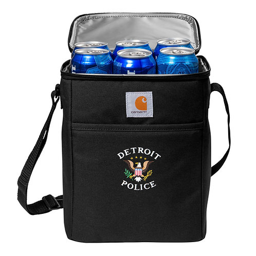 Carhartt® Vertical 12-Can Detroit Police Eagle Cooler CT89032822